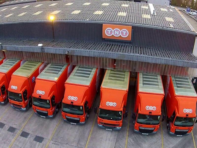 TNT warehouse in Germany